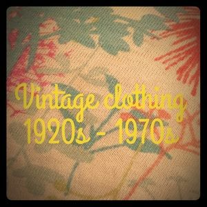 Vintage. Many items from gorgeous estate sales.